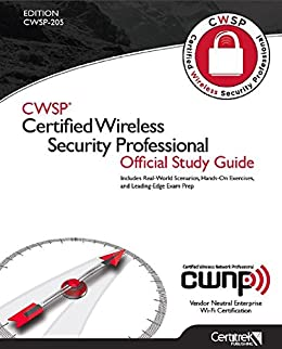 cwsp certified wireless security professional study guide exam cwsp 205