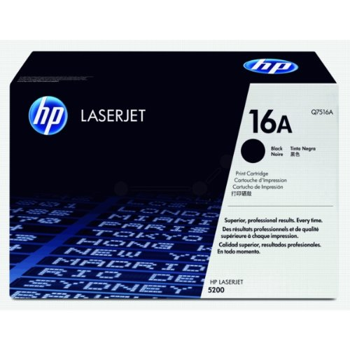 Compatible HP Q7516A Laser Toner Cartridge For Use In HP 5200, 5200DTN, 5200N, Office Central