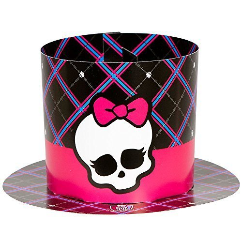 Monster High Paper Party Hats - 8 ct -