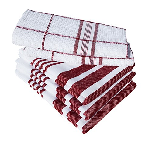 Dish Towels, Boldways 5 piece set, 100%  - Stripe Dish Towel 3 Piece Shopping Results