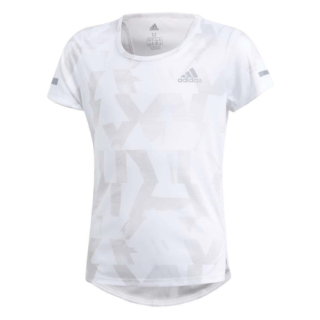 adidas Girls Tshirt Running Training Run Tee Fashion Kids Young Lifestyle