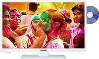 Telefunken XH24A100D-W 61 cm (24 Zoll) Fernseher (HD-Ready, Triple Tuner,...