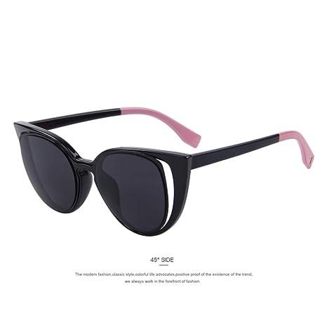 Yangjing-hl Gafas de Sol de Ojo de Gato de Moda Mujer ...