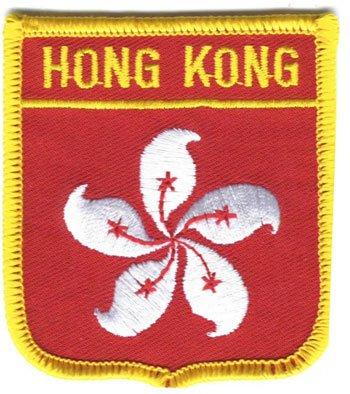 Hong Kong (Xianggang) - Country Shield Patch