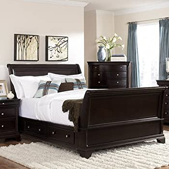this item inglewood sleigh bed size california king - California King Sleigh Bed Frame
