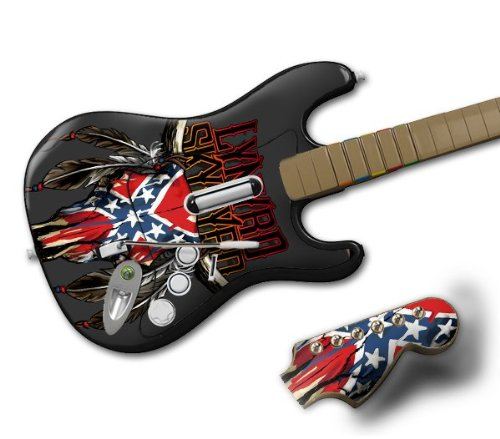 Zing Revolution MS-LS20028 Rock Band Wireless Guitar- Lynyrd Skynyrd- Bull (Lynyrd Skynyrd Bull Skin)