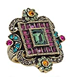 Heidi Daus SWAROVSKI Crystal Statement Ring ~ Jewelry Envy~ 7