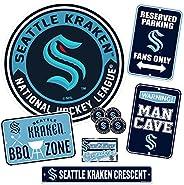 Seattle Kraken Ultimate Fan Set 7 Piece