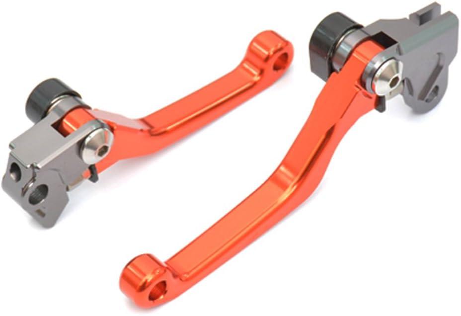 85//150SX//XC 2003-2011 Tencasi Arancione CNC Perno Freni e Frizione Leve per 65SX//XC 2004-2011