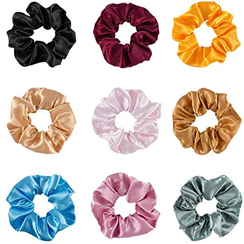 Friendly Womens Scrunchies Snake Print Elastic Hair Bands Ladies Stretch Pontail Holder Rubber Band Hair Tie Headwear Hair Accessories Attractive And Durable Apparel Accessories