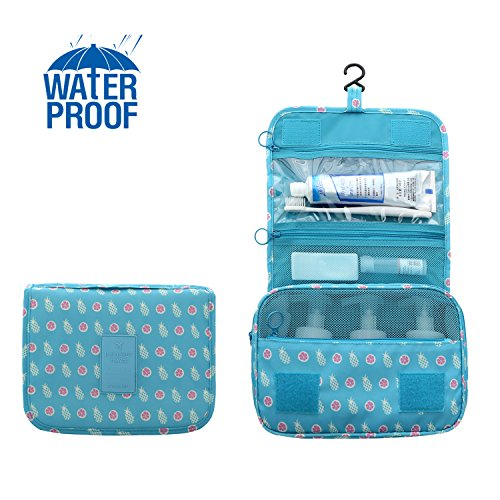 Bathroom Organizer Travel Nylon Portable Hanging Toiletry Co