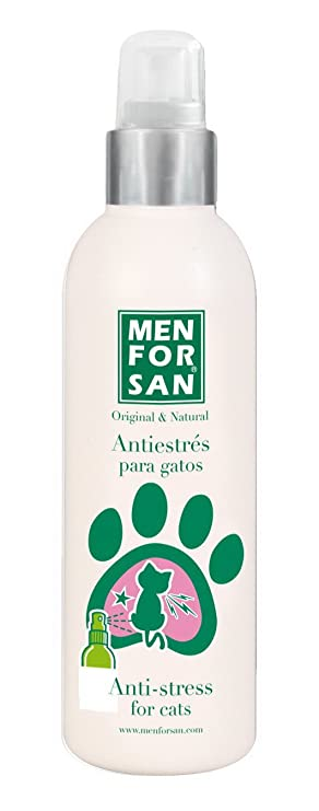 MEN FOR SAN Antistress Gatos 125 ml BILPER: Amazon.es: Productos para mascotas