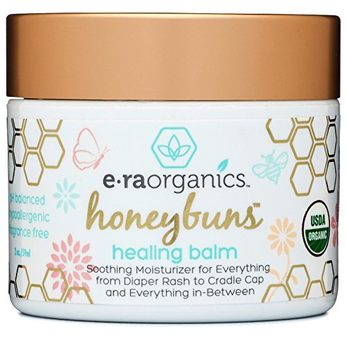 Healing Ointment for Babies 2oz. USDA Certified Organic Natural Healing Cream for Baby Eczema, Cradle Cap (Infant Seborrheic Dermatitis), Chapped Nose, Rashes, Hives & More - Baby Cradle Cap Remedy
