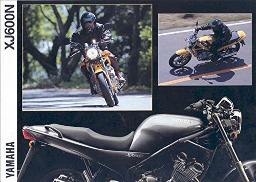 1994 Yamaha XJ600N Motorcycle Brochure Germany