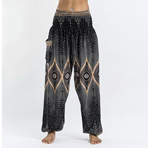 Sanfashion Nero Hosen Pantaloni Damen Donna wAq4H