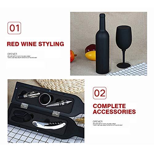 5 Pieces Wine Opener Set Manual Bottle Kit Corkscrew All-in-One Lever Cute Rabbit Cork Remover for Men Women Housewarming Wedding by GYFHMY (Image #5)