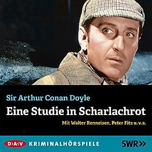 Eine Studie in Scharlachrot (Sherlock Holmes) Hörspiel