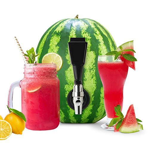 Watermelon Tap, Combo Kit coring Tool included, Natural Keg For Summer Parties, Home Brewing, Tapping Watermelon, Pumpkins,Pineapples,For Cocktails,Beer,Mead,Beverages By BTOOL (Coring Tool)