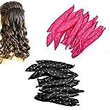 20 Pieces Hair Rollers, Night Sleep Flexible Sponge Pillow Foam Hair Curlers, DIY