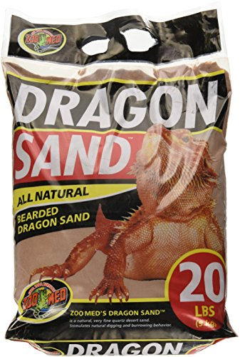 Substrate Calcium (Zoo Med 26457 Dragon Sand, 20 lb)