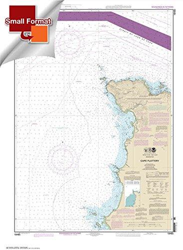 Paradise Cay Publications NOAA Chart 17430 WATERPROOF Tongass Narrows 37.6 x 49.7
