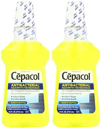 Cepacol Antibacterial Multi-Protection Mouthwash, Gold, 24 Ounce by Cepacol Reckitt Benckiser