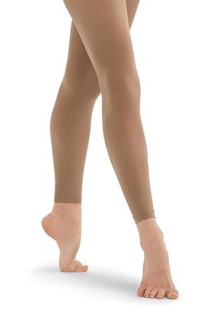fd4f736befabf Amazon.com: Balera Adult Footless Dance Tights: Clothing