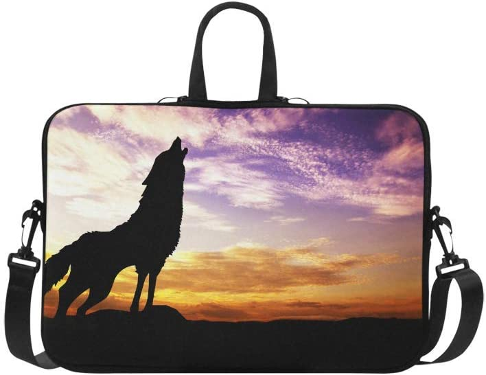 Laptop Sleeve Case Bag Wolf 13 13.3 Inch for MacBook Pro Air Dell HP Lenovo Thinkpad Acer Ultrabook