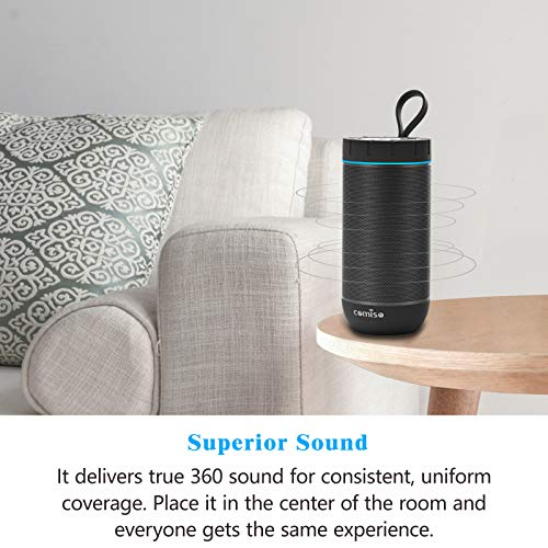 Outdoor Wireless with Hours Superior for Camping, Beach, Shower