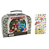 Woodland Animals Sewing Craft Kit for Kids and Owl Plastic Sticker