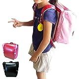 両手が使えて通学を安全に!ランドセル用 収納便利バッグ サンドセル (ブラウン)