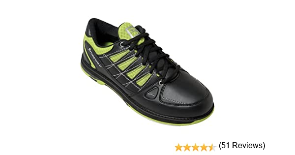 Brunswick Arrow - Zapatillas para Bolos, Color Verde Lima y Negro: Amazon.es: Deportes y aire libre