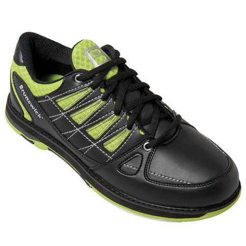 Herren Bowlingschuhe Brunswick Arrow black/lime (40.5)