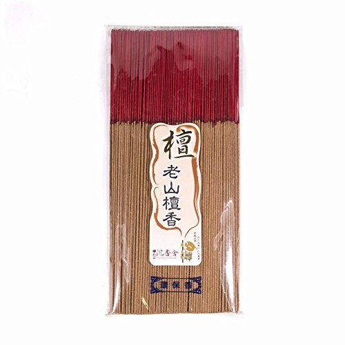 (Sandalwood Joss Incense Sticks 300g - Taiwan Incense House - For Religion Buddha Use About 400 sticks - 30CM)