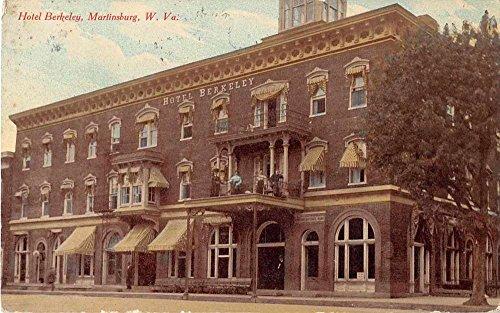 Martinsburg West Virginia Hotel Berkeley Antique Postcard J54794