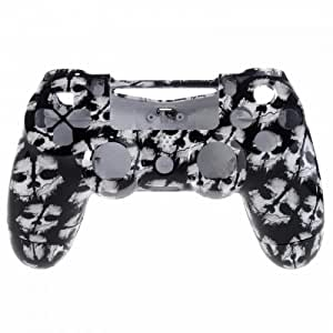 Hydro Dipped Front and Back Replacement Housing Shell Mod for PS4 (COD White Ghosts)