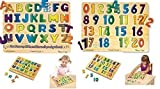 Melissa & Doug Alphabet and Numbers Wood Puzzle - Sound Puzzle Set