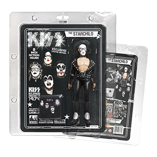 "KISS 8 Inch Action Figures Series Two ""The Starchild"" Bandit Variant"