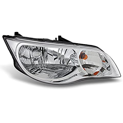 2003 2004 2005 2006 2007 Saturn ION 2 Door Coupe Right Passenger Side Replacement Headlight (Hid Saturn Ion)