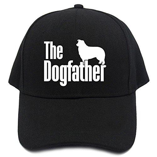 Teeburon The dogfather Border Collie Baseball Cap
