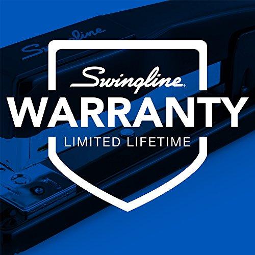 Large Product Image of Swingline Stapler, Commercial Desk Stapler, 20 Sheet Capacity, Black (44401)