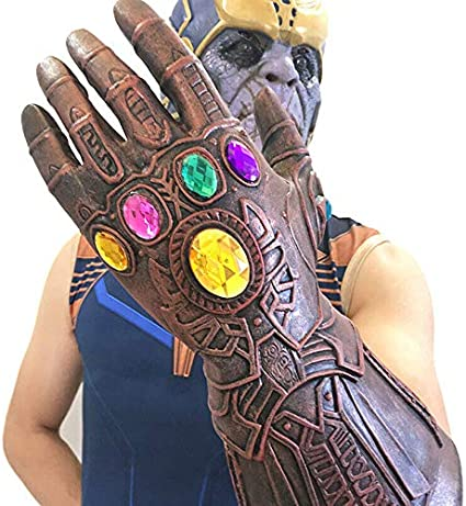 Thanos Infinity Gauntlet Marvel Legends Glove Avengers Cosplay Props Toys Gifts