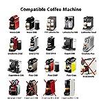 i-Cafilas-Espresso-Capsule-Caff-Compatibili-Nespresso-Nespresso-Capsula-ricaricabileriutilizzabili-Filtro-in-Acciaio-InoxCoffee-Capsule-TamperCucchiaio-Spazzola-2-Capsula