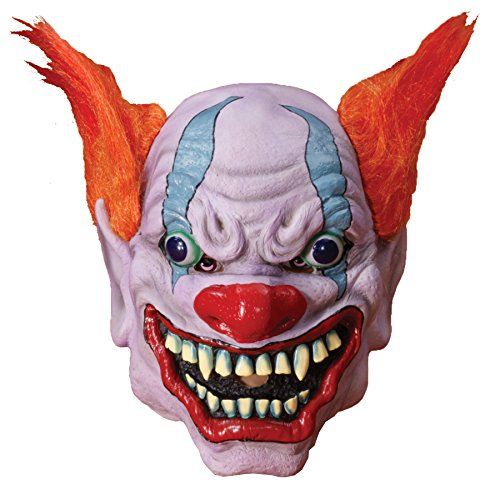 Monster Clown Mask Adult Halloween Accessory (2