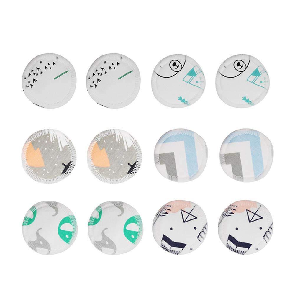 12pcs Wiederverwendbare Make-up-Entferner Pads Waschbar Bambus Baumwolle Make-up Entfernen Pads mit W/äschebeutel Aolvo Eco Make Up Remover Pads
