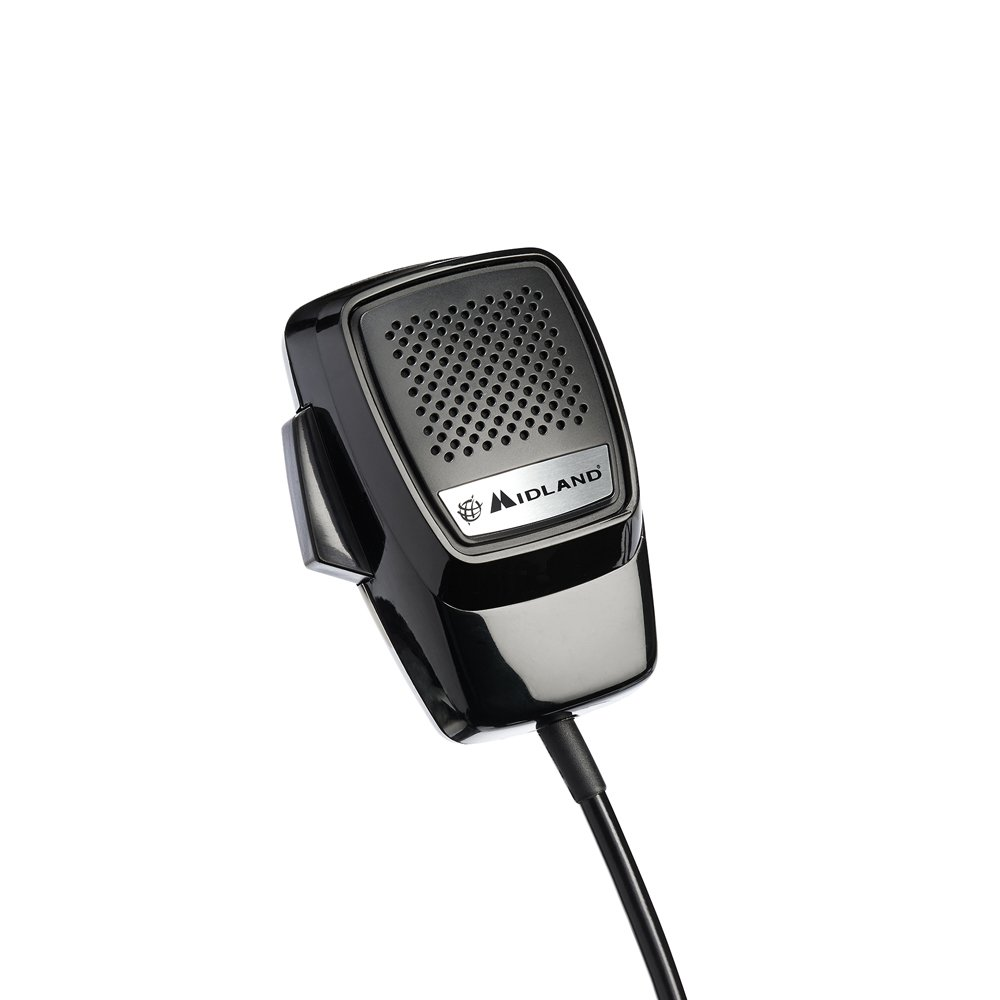 Midland C1094 Microphone pour Radio CB Alan 100 Plus/Alan 100 Plus Euro/Alan 199