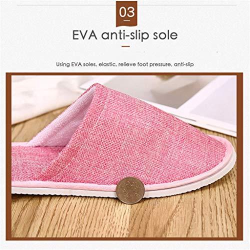 Party A 5 Hotel Respirant Paires LQFLD Spa Pantoufles B Travel Shoes Accueil Jetables Pantoufles 8xgw7q4