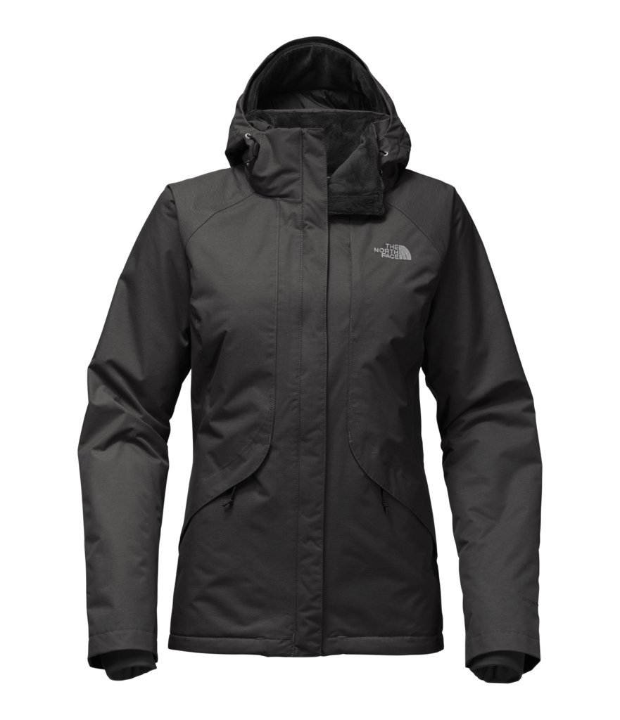 The North Face Women's Inlux Insulated Jacket - TNF Black Heather - M