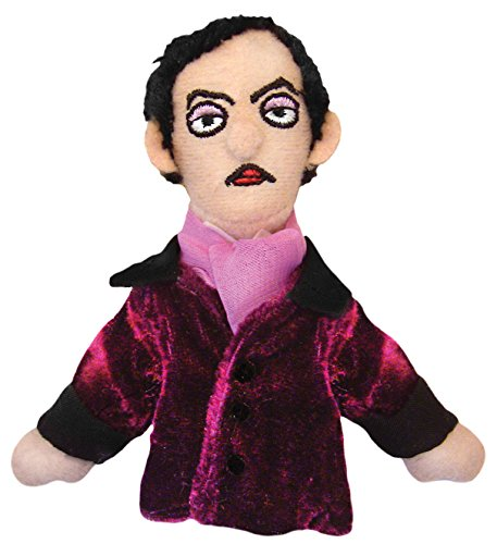 (The Unemployed Philosophers Guild Edgar Allan Poe Finger Puppet and Refrigerator Magnet - for Kids and Adults)