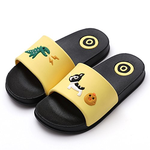 Girls Boys Bath Slippers Kids Beach Pool Shoes Indoor House Sandal Anti-Slip and Quick-Drying by KVbaby